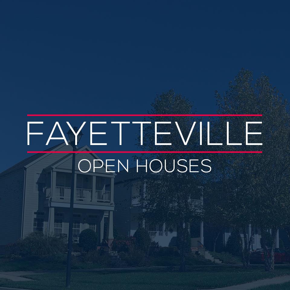 Fayetteville Arkansas Open Houses